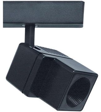 Cal HT-206-BK Modern Small Low Voltage Track Lighting Head