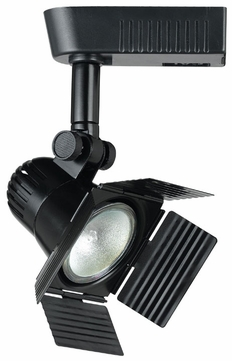 Cal HT972 Contemporary Low Voltage Halogen Track Light Head with Barn Door Shades