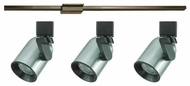 Cal Lighting Roundback 3-light Low Voltage Contemporary Track Pack