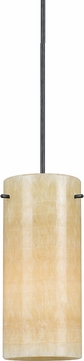 Cal UP-1030-6-DB Uni-Pack Contemporary Dark Bronze Stone Mini Pendant Hanging Light