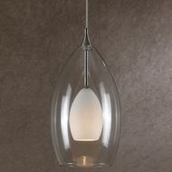 Cal UP-1045-6-BS Uni-Pack Contemporary Brushed Steel White Halogen Mini Drop Ceiling Light Fixture