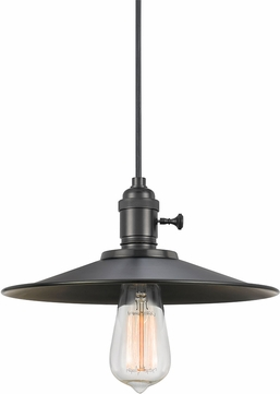 Cal UP-1097-6-MTL Uni-Pack Contemporary Oil Rubbed Bronze Mini Lighting Pendant