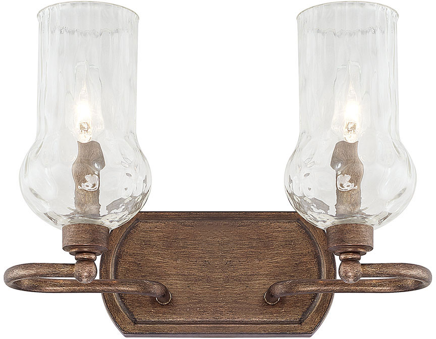 Capital Lighting 111621RT-322 Rowan Rustic 2-Light