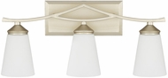 Capital Lighting 112331SF-324 Boden Modern Soft Gold 3-Light Bathroom Light Fixture