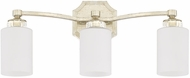 Capital Lighting 115031WG-375 Olivia Winter Gold 3-Light Bathroom Lighting Sconce