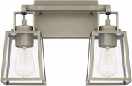 Capital Lighting 125521AN-448 Kenner Antique Nickel 2-Light Bath Wall Sconce