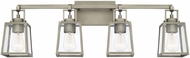Capital Lighting 125541AN-448 Kenner Antique Nickel 4-Light Bathroom Lighting Sconce
