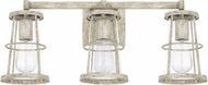 Capital Lighting 127431MS Beaufort Contemporary Mystic Sand 3-Light Bath Lighting