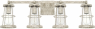 Capital Lighting 127441MS Beaufort Contemporary Mystic Sand 4-Light Bathroom Lighting Fixture