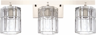 Capital Lighting 127631PN-458 Sloane Modern Polished Nickel 3-Light Bath Light Fixture