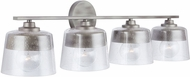 Capital Lighting 138241WY Decker Modern Washed Grey 4-Light Vanity Light