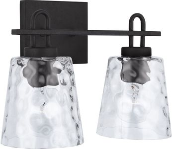 Capital Lighting 138322BI-492 23 Modern Black Iron 2-Light Bath Lighting