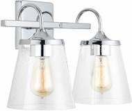 Capital Lighting 139122CH-496 20 Chrome 2-Light Vanity Lighting Fixture