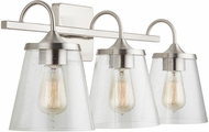 Capital Lighting 139132BN-496 20 Brushed Nickel 3-Light Bathroom Vanity Lighting