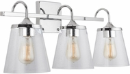 Capital Lighting 139132CH-496 20 Chrome 3-Light Bathroom Light Fixture