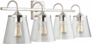 Capital Lighting 139142BN-496 20 Brushed Nickel 4-Light Bathroom Lighting Fixture