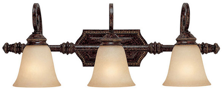 Capital Lighting 1523cb 287 Barclay Traditional Chesterfield Brown 3 Light Vanity