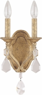 Capital Lighting 1617AG-CR Blakely Antique Gold Wall Sconce
