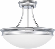 Capital Lighting 2037CH Modern Chrome Ceiling Light Fixture