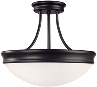 Capital Lighting 2037MB Modern Matte Black Ceiling Light