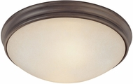 Capital Lighting 2042OR Oil Rubbed Bronze Flush Ceiling Light Fixture