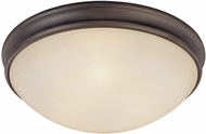 Capital Lighting 2044OR Oil Rubbed Bronze Flush Mount Ceiling Light Fixture