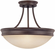 Capital Lighting 2047OR Oil Rubbed Bronze Semi-Flush Home Ceiling Lighting