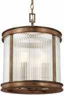 Capital Lighting 212041RT Reid Rustic Ceiling Lighting Fixture