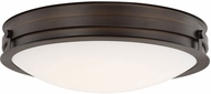 Capital Lighting 213911BB-LD Capital Ceilings Burnished Bronze LED Flush Lighting