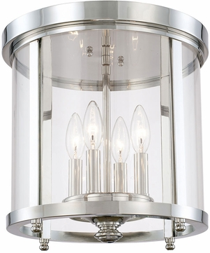 Capital Lighting 214141PN Capital Ceilings Polished Nickel Home Ceiling Lighting