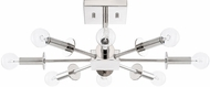 Capital Lighting 219281PN City Contemporary Polished Nickel Ceiling Lighting Fixture