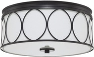 Capital Lighting 225131MB-683 Rylann Matte Black Overhead Lighting