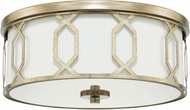 Capital Lighting 228131WG-683 Winter Gold Flush Mount Ceiling Light Fixture