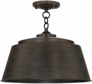 Capital Lighting 229111NG Tybee Nordic Grey Overhead Light Fixture