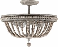 Capital Lighting 229521MS Kayla Contemporary Mystic Sand Ceiling Light Fixture