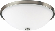 Capital Lighting 2323AN-SW Covington Antique Nickel Flush Mount Lighting