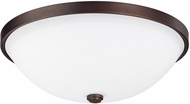 Capital Lighting 2323BB-SW Burnished Bronze 13  Overhead Lighting Fixture