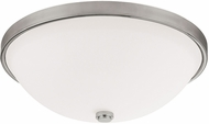 Capital Lighting 2325MN-SW Polished Nickel 15  Ceiling Light Fixture