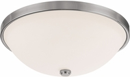 Capital Lighting 2325PN-SW Polished Nickel 15  Flush Lighting