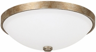 Capital Lighting 2325SA-SW Ansley Sable Flush Mount Lighting Fixture