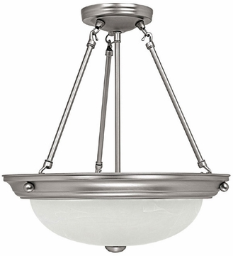 Capital Lighting 2718MN Matte Nickel Hanging Light