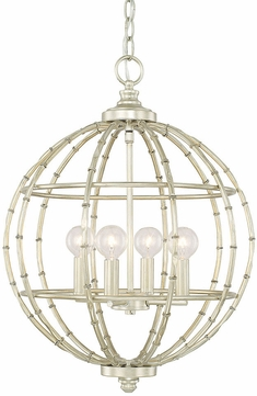 Capital Lighting 311841SF Pendants Contemporary Soft Gold Hanging Pendant  Lighting