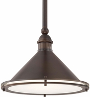 Capital Lighting 312211BB Langley Burnished Bronze 13  Hanging Light Fixture