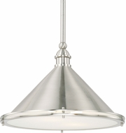 Capital Lighting 312221BN Langley Brushed Nickel 17.75  Ceiling Light Pendant