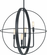 Capital Lighting 312542BI Pendants Contemporary Black Iron 23  Drop Ceiling Light Fixture