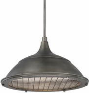 Capital Lighting 312811GM Pendants Gunmetal Pendant Light