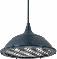 Capital Lighting 312811WZ Pendants Weathered Zinc Lighting Pendant