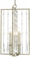 Capital Lighting 313342SG Charleston Silver and Gold Leaf Foyer Lighting