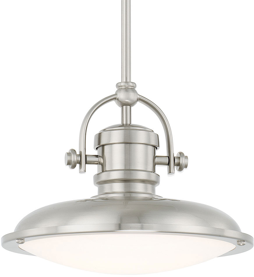 Capital lighting 317311bn ld pendants brushed nickel led mini pendant light fixture loading zoom
