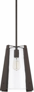 Capital Lighting 319912BB Contemporary Burnished Bronze Mini Pendant Lighting